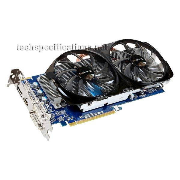 AMD Radeon R7 260X OC WINDFORCE 2X Graphics Card Specs