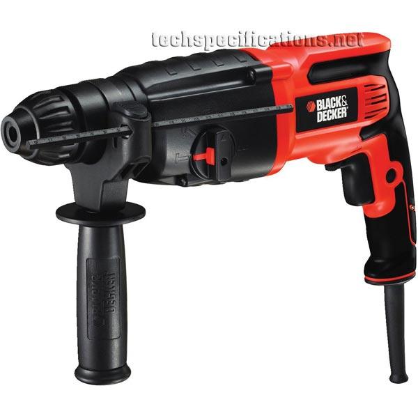 black and decker kd750kc sds hammer drill tech specs. Black Bedroom Furniture Sets. Home Design Ideas