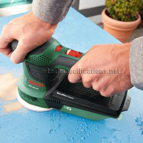 bosch pex 300 ae random orbital sander tech specs. Black Bedroom Furniture Sets. Home Design Ideas