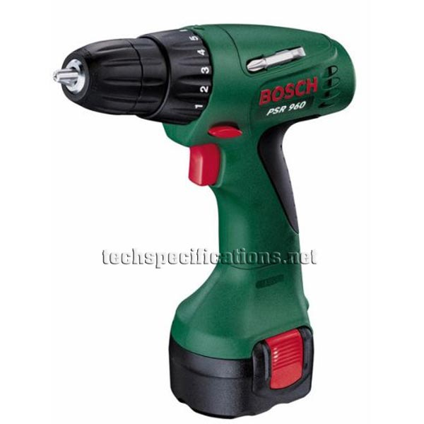 bosch psr 960 drill and screwdriver tech specs. Black Bedroom Furniture Sets. Home Design Ideas