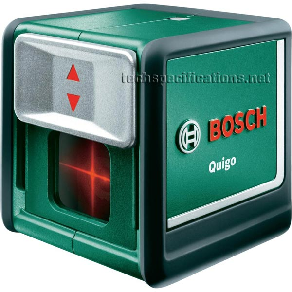 bosch quigo 2 cross line laser tech specs. Black Bedroom Furniture Sets. Home Design Ideas