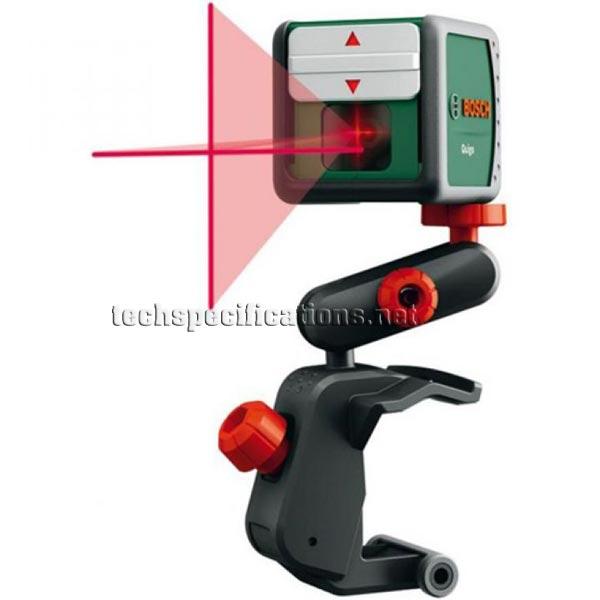 bosch quigo 2 cross line laser tech specs. Black Bedroom Furniture Sets. Home Design Ideas