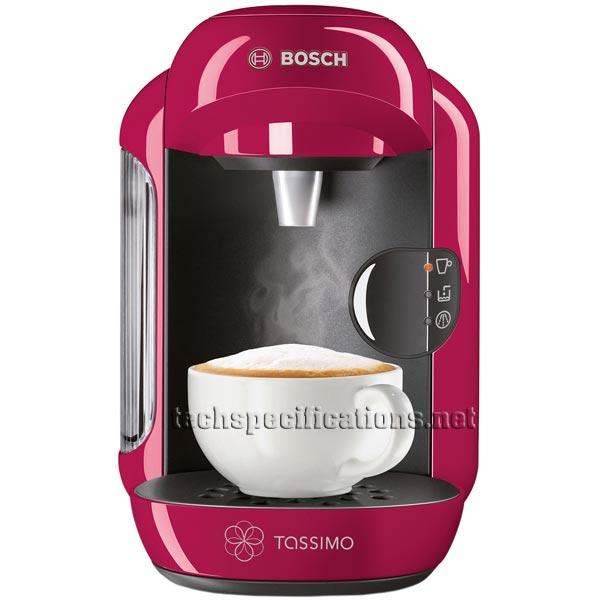 Tassimo Coffee Maker Dimensions : Bosch Tassimo Vivy TAS1204 Automatic Espresso Machine Tech Specs - Technical Specifications