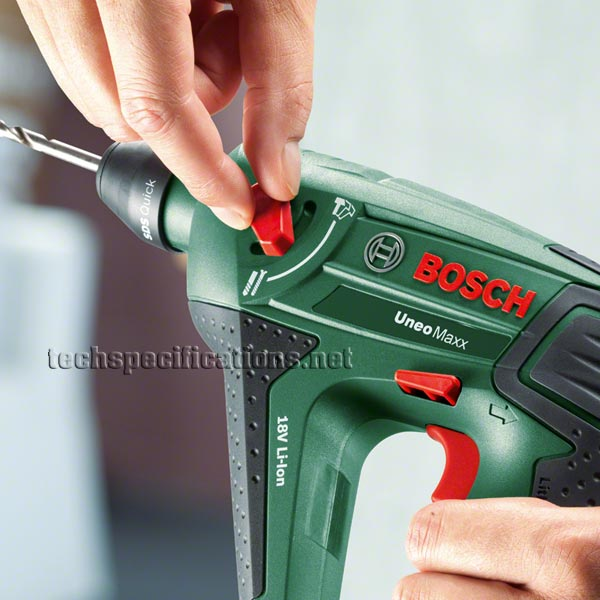 bosch uneo maxx baretool is drill and screwdriver tech specs. Black Bedroom Furniture Sets. Home Design Ideas