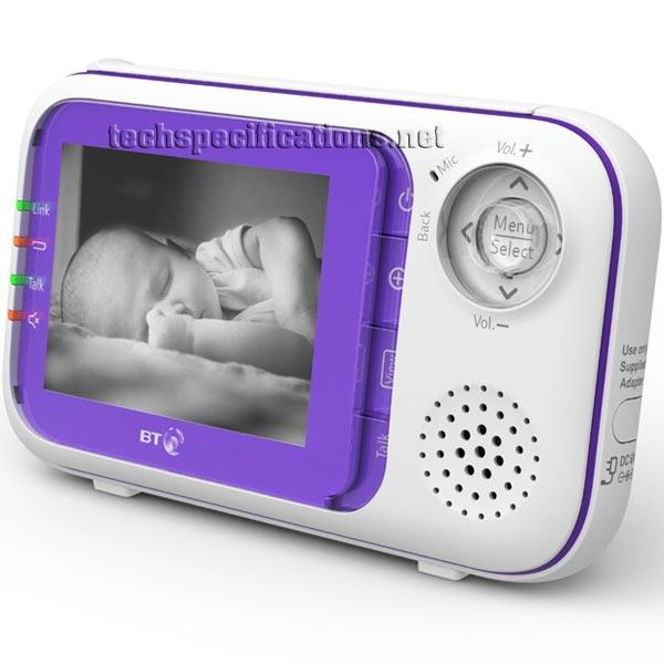 bt 1000 digital video baby monitor tech specs. Black Bedroom Furniture Sets. Home Design Ideas