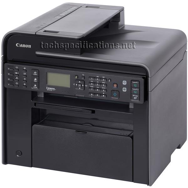 Canon Mf4750 Multifunction Laser Printer Tech Specs