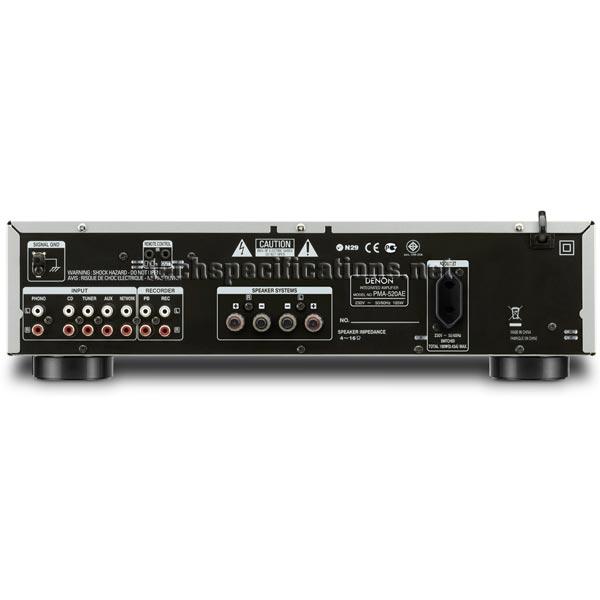 denon pma 720ae amplifier tech specs. Black Bedroom Furniture Sets. Home Design Ideas