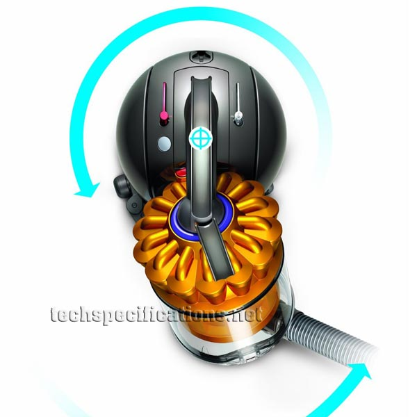Dyson DC33c Allergy Parquet Vacuum Cleaner Tech Specs