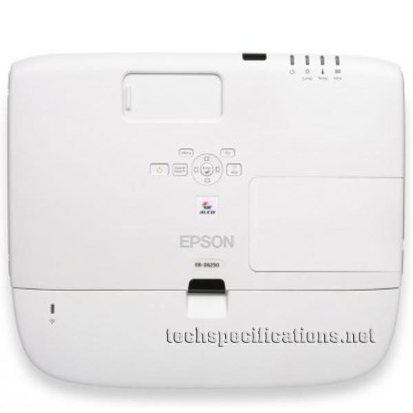 Epson EB-D6250 Video Projector Tech Specs