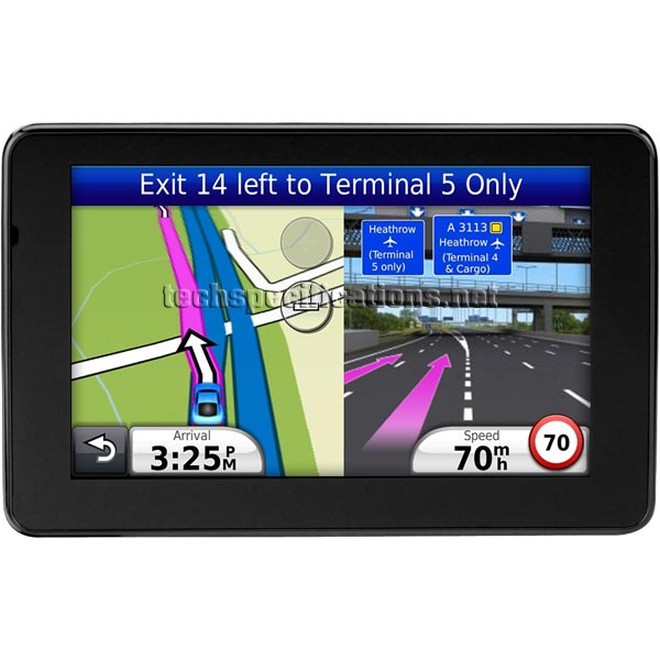 Technical Specifications of Garmin Nuvi 3590LMT GPS ...