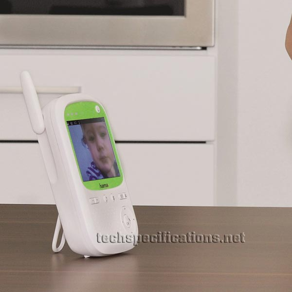 hama baby control bm150 baby monitor tech specs. Black Bedroom Furniture Sets. Home Design Ideas
