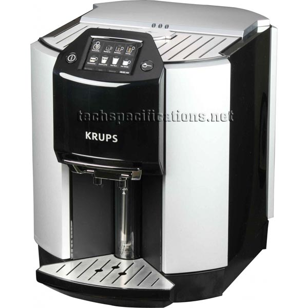 krups barista ea9000 automatic espresso machine tech specs. Black Bedroom Furniture Sets. Home Design Ideas