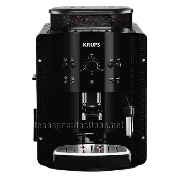 Krups EA8108 Automatic Espresso Machine Tech Specs