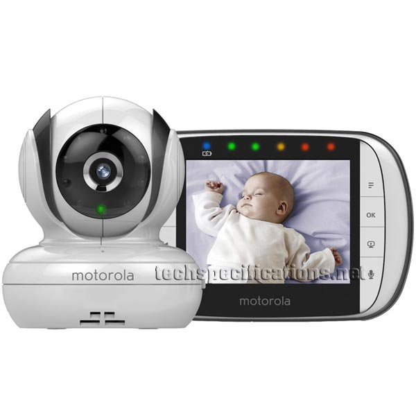 Motorola MBP36S Digital Video Baby Monitor Tech Specs