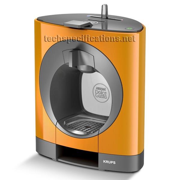 nescafe dolce gusto oblo coffee machine tech specs. Black Bedroom Furniture Sets. Home Design Ideas