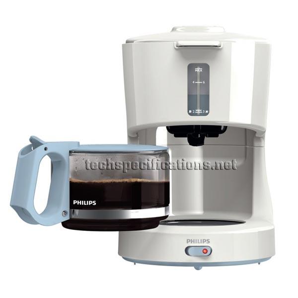 Philips HD7450/70 Coffee Machine Tech Specs