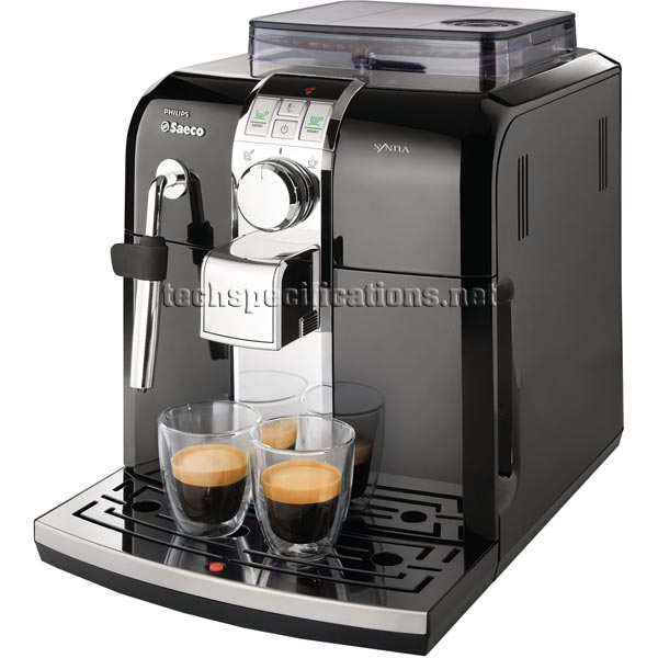 philips saeco syntia hd8833 automatic espresso machine. Black Bedroom Furniture Sets. Home Design Ideas