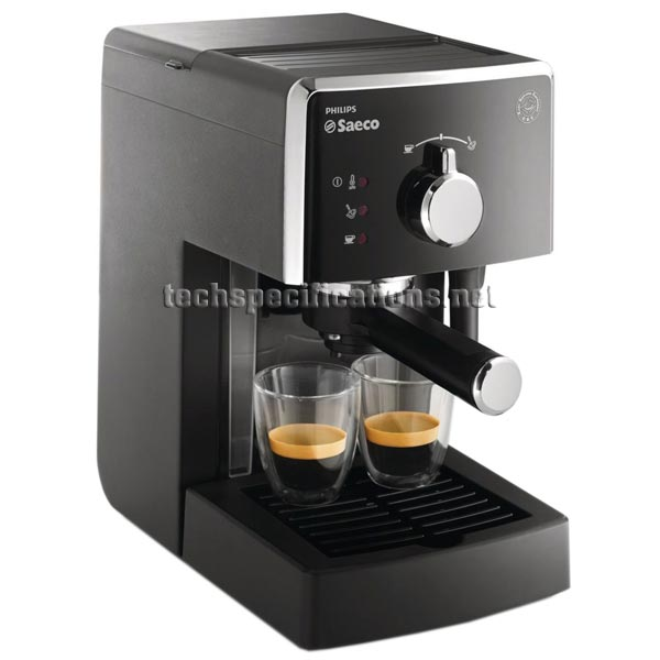 saeco poemia hd8323 manual espresso machine tech specs. Black Bedroom Furniture Sets. Home Design Ideas