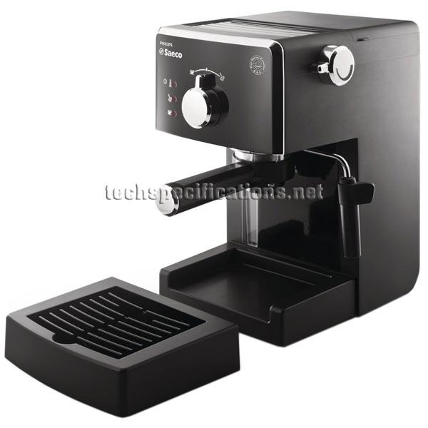 Saeco Coffee Maker User Manual : Saeco Poemia HD8323 Manual Espresso Machine Tech Specs