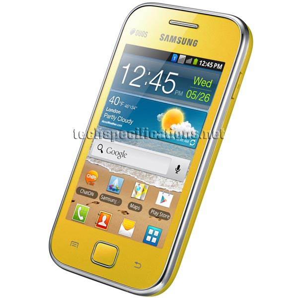 Technical Specifications of Samsung S6802 Galaxy Ace