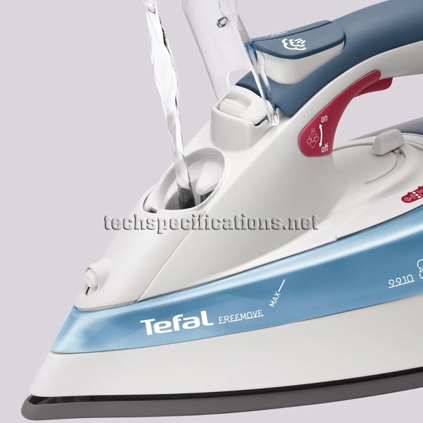 how to use tefal freemove iron