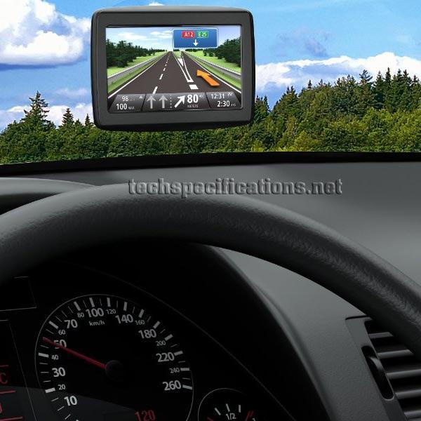 TomTom Start 25 GPS Navigator Tech Specs