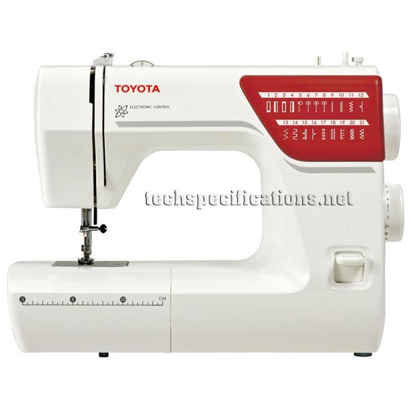 toyota rsr21 sewing machine tech specs. Black Bedroom Furniture Sets. Home Design Ideas
