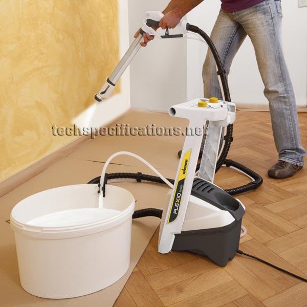 wagner flexio 995 fine spray system tech specs. Black Bedroom Furniture Sets. Home Design Ideas