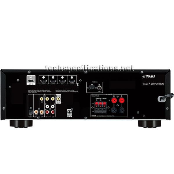yamaha rx v379 av receiver technical specifications