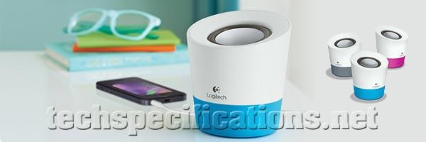 25a39e1d6c5 Logitech Z50 Portable Speaker Tech Specs