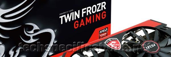 MSI AMD Radeon R9 280X Graphics Card Tech Specs