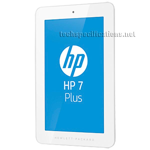 Hp 7 Plus 1301 Tablet Technical Specifications